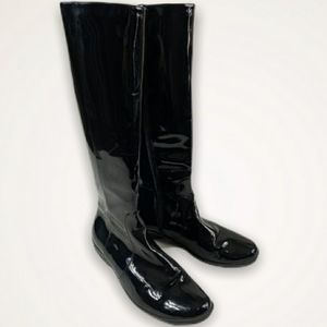 Aquatalia Weatherproof Patent Leather Rain Boots
